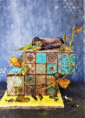 Autumn visions - Cake by Chrisi Murat - Art and the sugar