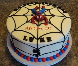 Spiderman Cake - Cake by Amanda Reinsbach
