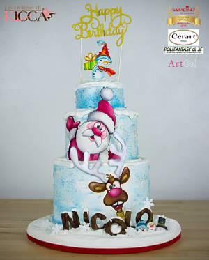 Happy Birthday my love - Cake by  Le delizie di Kicca