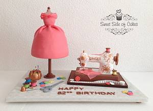 My Dad's Birthday Cake - Cake by Sweet Side of Cakes by Khamphet