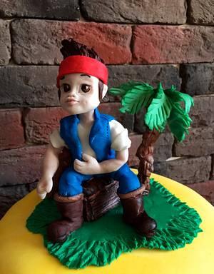 Cake Captain Jake - Cake by DinaDiana