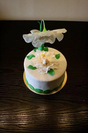 Christening  - Cake by Rozy
