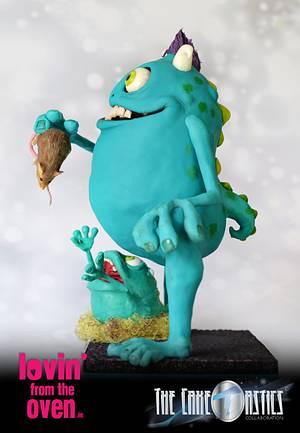 The Caketastics - Recumberer Monster - Cake by Lovin' From The Oven