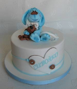 Cake for christening - Cake by lamps