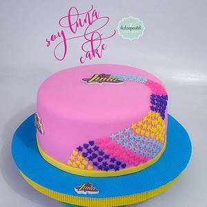 Torta Soy Luna - Cake by Dulcepastel.com