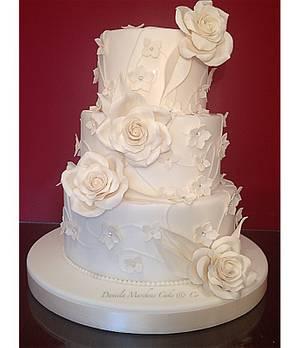 Romantic cake - Cake by Daniela Marchese