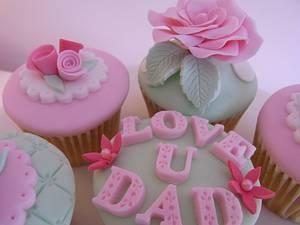 Dad's Love Cupcakes too...x. - Cake by Lulu Belles Cupcake Creations