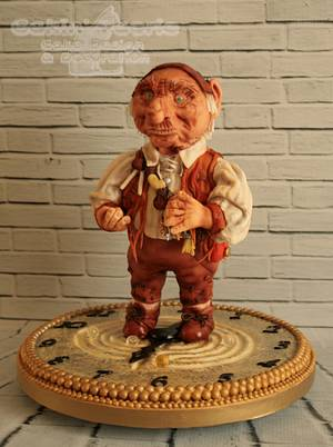 2016 Cake International London - Hoggle - Silver Award - Cake by Suzanne Readman - Cakin' Faerie