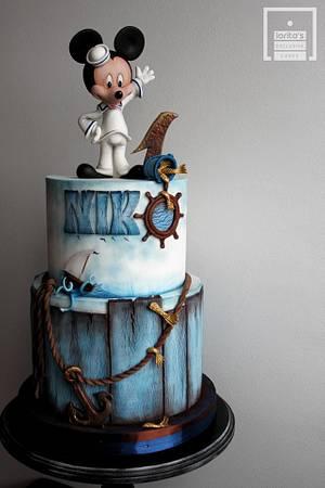 Mickey sailor cake - Cake by Lorita