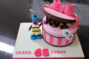 Bertie Bassett meets Choc Box - Cake by Delights by Design
