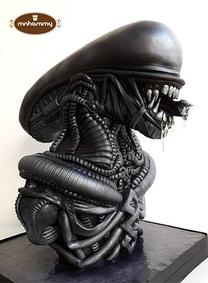Alien - Let's Dream Together, The Collab In Pairs - Cake by Mnhammy by Sofia Salvador