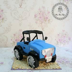 Jeep Wrangler Cake - Cake by yumyumsugar