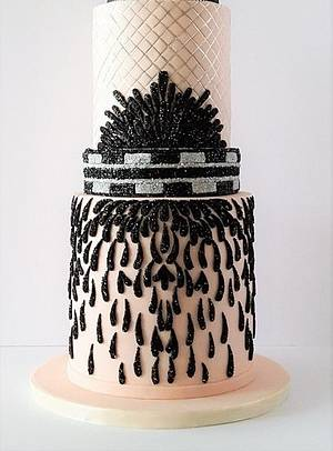 Fashion inspired design   - Cake by Zohreh