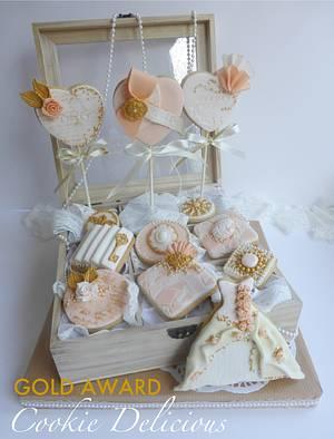 Gold Award Winning Wedding Cookies ~ Cake International London 14 - Cake by Cookie Delicious