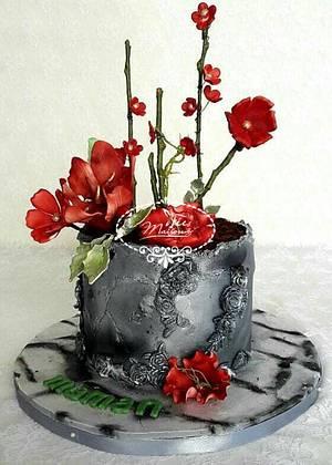 Flower pot cake - Cake by Fées Maison (AHMADI)