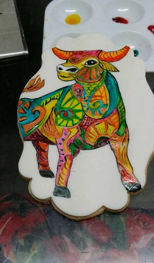 Zodiac Challenge... Taurus. - Cake by Sue's Sweet Delights