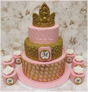 Tiara cake with mini cakes - Cake by Cakes by Rasa