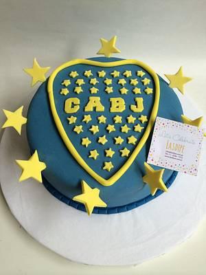 Futbol Boca Juniors - Cake by Lasdipe
