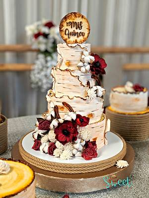 Birch Cake  - Cake by Sweet Heaven Cakes