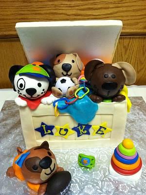 Toy Box Cake - Cake by TastyMemoriesCakes