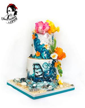SUMMERTIME for Her&Him - Cake by Ivon