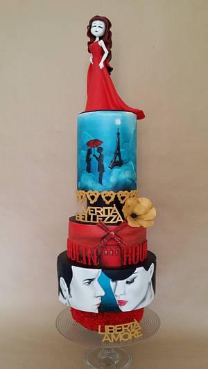 Moulin Rouge - Film - Cake by Cristina Pontarolo