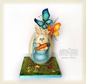 """Easter Chocolate Egg"" - Cake by Aspasia Stamou"