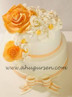 B&O Engagement cake - Cake by ahugursen
