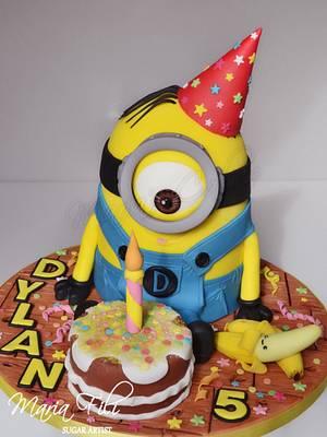 Minions cake - Cake by Marias-cakes