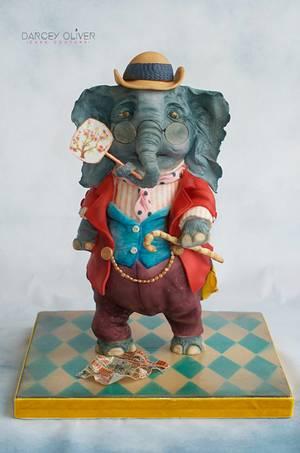 Sir Humphrey - Cake by Sugar Street Studios by Zoe Burmester