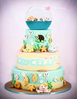 Under the Sea - Cake by HummingBread