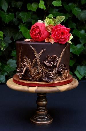 Bas relief cake - Cake by Katarzynka
