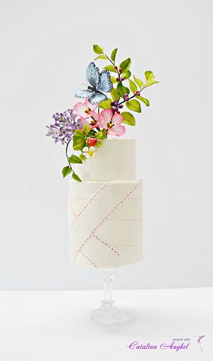 Bandaged Cake- #TheButterflyProject - Cake by Catalina Anghel azúcar'arte