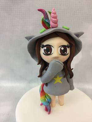 I want to be a unicorn! - Cake by The Cake Lady