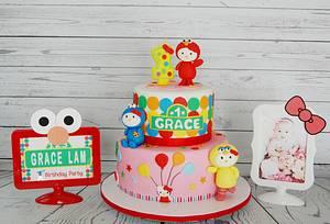 ElmoKitty - Cake by funni