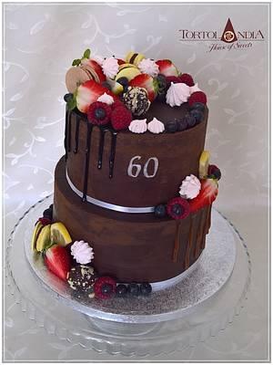 Chocolate cake  - Cake by Tortolandia