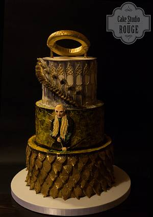 One ring to rule them all  - Cake by Ceca79