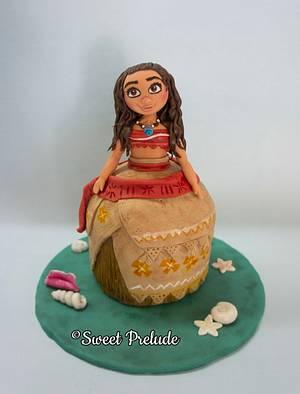 Moana cake doll - Cake by Sweet Prelude
