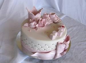 Light pink princess dream ! - Cake by Trine Skaar