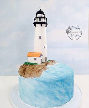 Lighthouse <3  - Cake by Audrey