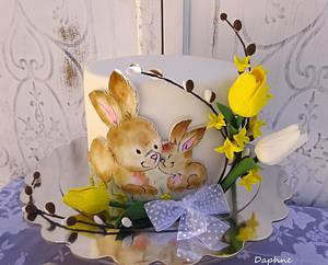 Easter cake - Bunny  - Cake by Daphne
