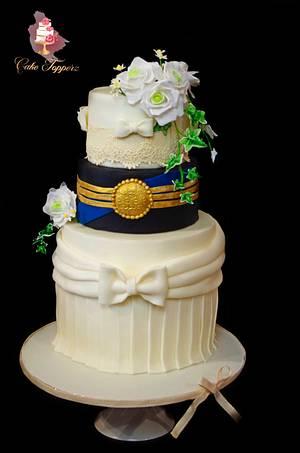 Kissing  Frog (CPCs Royal Wedding cake Collaboration) - Cake by Tasnuta Cake Artistry ( TASNUTA ALAM)