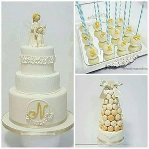 Baptsim cake - Cake by leccalecca