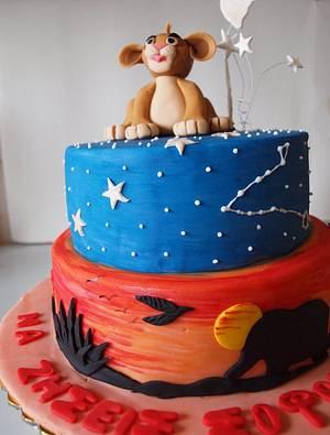 Lion King - Cake by sugardiver62