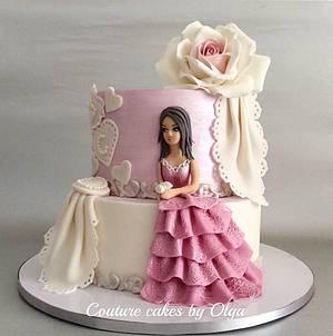 Princess cake - Cake by Couture cakes by Olga