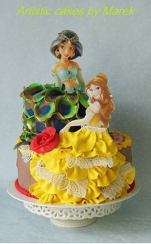 B'day cake Bella , Yasmine - Cake by Marek