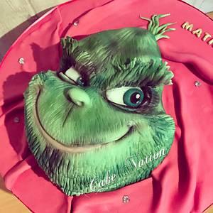Grinch cake  - Cake by Cake Nation