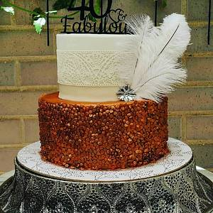 The Great Gatsby - Cake by Cakesters