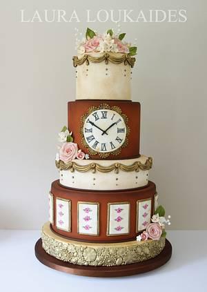 Antique Wedding Cake - Cake by Laura Loukaides