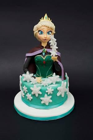 Elsa Queen - Cake by bamboladizucchero